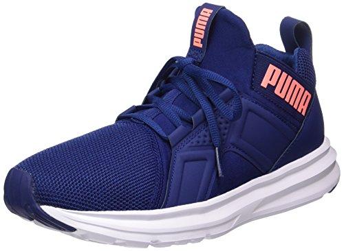 Puma Enzo Mesh, Chaussures Multisport Outdoor Femme Bleu (Blue Depths-nrgy Peach)