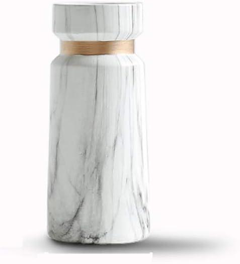 Marble Style Ceramic Porcelain Flower vases for Home Decor