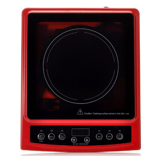 Big Boss 9148 1300 Watt Induction Cooktop Compatible With