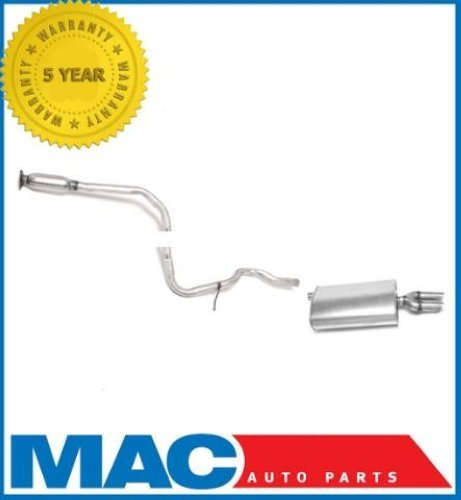 - Mac Auto Parts 39597 Chevrolet Cavalier Pontiac Sunfire Dual Tip Muffler Exhaust Pipe System