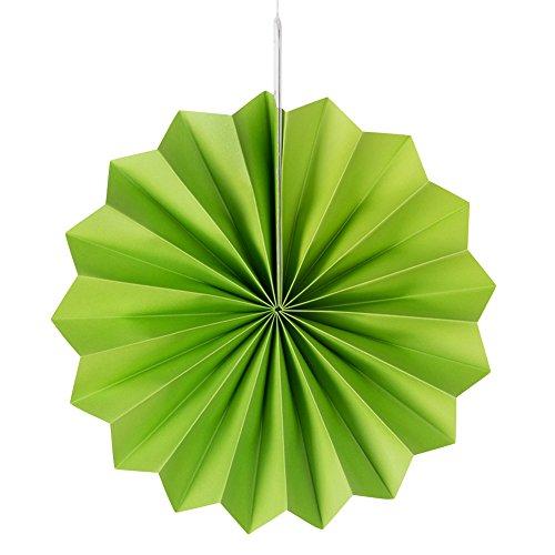 MOWO Hanging Paper Fan Set for Wedding/ Christmas Decoration, Home Decor Supplies Flavor(Assorted Color, 12 pcs) by MOWO (Image #5)