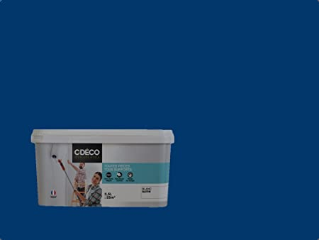 Decohom 0660902577699 C Déco Peinture Murale Bleu Pétrole 2
