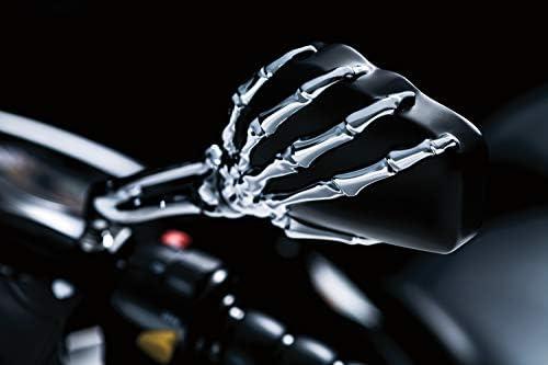 Hand Skull Spiegel Harley Heritage Springer Sportster Dyna Glide Softail V Rod C