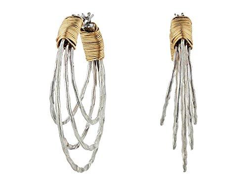 re Wrapped Multi-Row Hoop Earrings ()