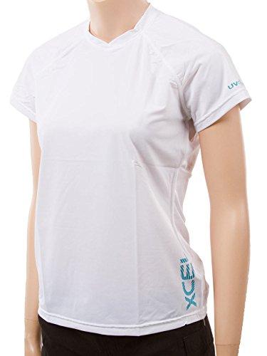 XCel Women's Ventx short sleeve sun shirt M White (43512)