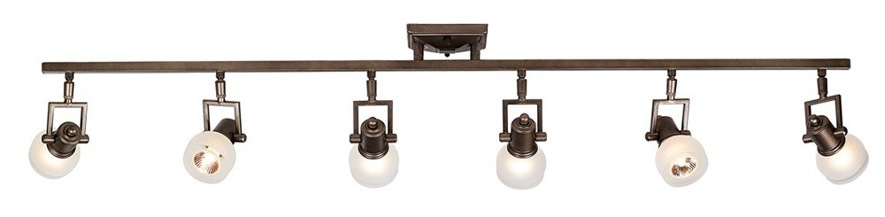 """Pro Track174; Chace 50"""" Wide 6-Light Complete Track Kit"""