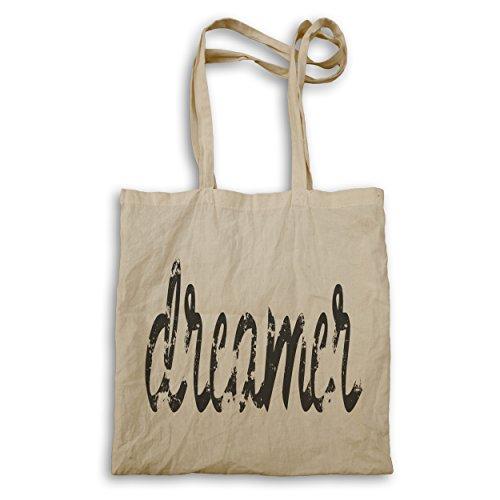 Tote Bag E979r. Novità Dreamer Funny Novelty