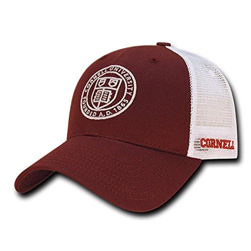 5a7f2292822cc University of Cornell Bears NCAA Structured Trucker Mesh Snapback Baseball  Cap H..