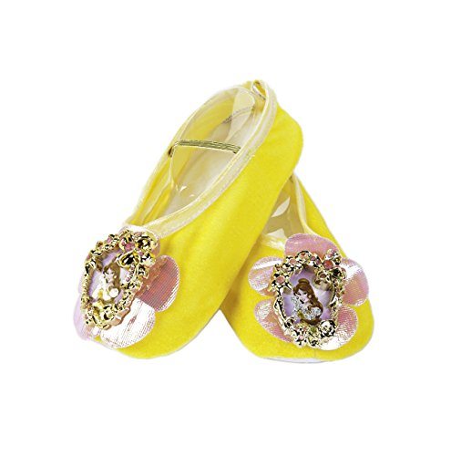 Belle Ballet Slippers,One Size Child (Disney Belle Shoes)