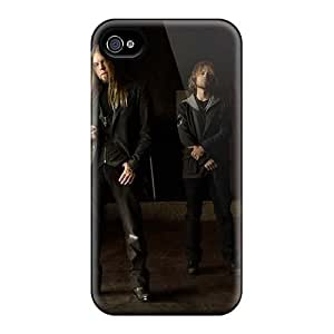 Iphone 4/4s QdZ17366HVep Allow Personal Design Vivid Drowning Pool Band Skin Shock Absorbent Hard Phone Covers -SherriFakhry