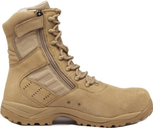 Tactical Research Belleville TR336 Guardian Zip Lightweight Desert Tan Composite Toe Boot, 7W