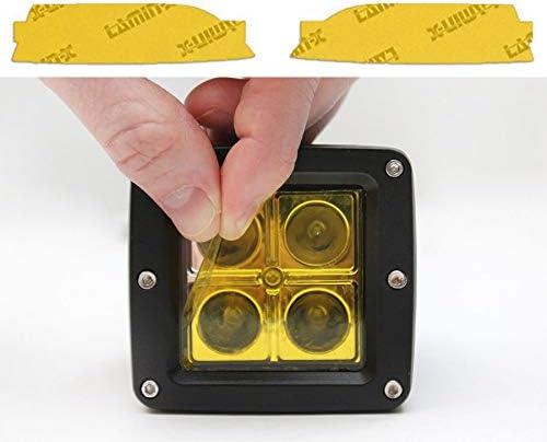 Lamin-x A130Y Fog Light Film Covers