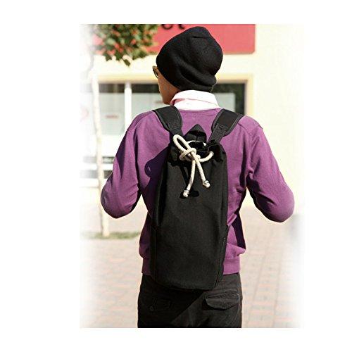 CHINA UK Drawstring Rucksack Leinwand Eimer Tasche Unisex Modische prägnante Basketball Rucksack Drawstring Rucksack green tTHmXJttT