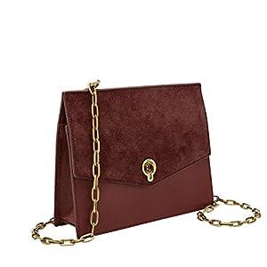 Fossil Women's Stevie Leather Crossbody Purse Handbag