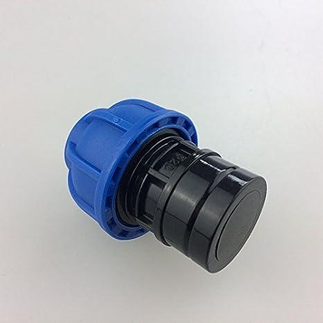 Aire comprimido de tuberías de conexiones sistema de aire comprimido End Cap dt200000 DN20)