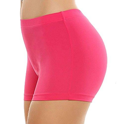 Khanomak Women's Short Length Slipshort Dance Short One Size(One Size, Neon ()