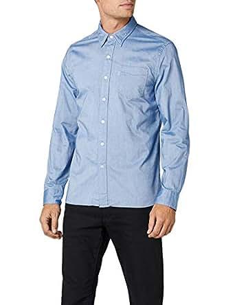 Levi's Erkek Sunset 1 Pocket Shirt Günlük Gömlek, Mavi, L Beden