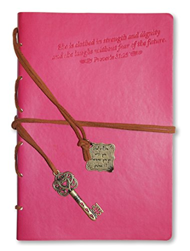 Divinity Boutique Journal with Pink Key Charm, Proverbs 31 (22876)