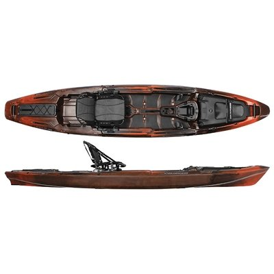 Wilderness Systems ATAK 140 Fishing Kayak - Mango