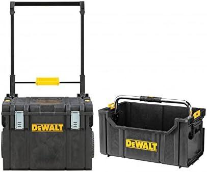 DEWALT DWST81683 TOUGHSYSTEM caja de herramientas con ruedas y bolsa TOUGHSYSTEM: Amazon.es: Bricolaje y herramientas