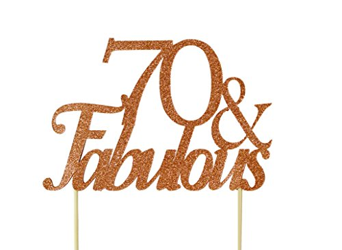 All About Details Copper 70-&-fabulous Cake ()