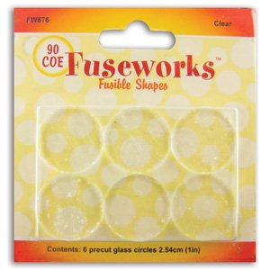 (WMU Fuseworks Clear Pre-Cut Circles - 90)