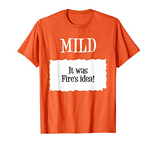 Mild Taco Sauce Packet Costume Halloween T-Shirt