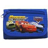 Amazon.com: Disney, diseño de coche, color negro cartera con ...