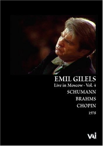 Emil Gilels Live in Moscow, Vol 4 by GILELS,EMIL