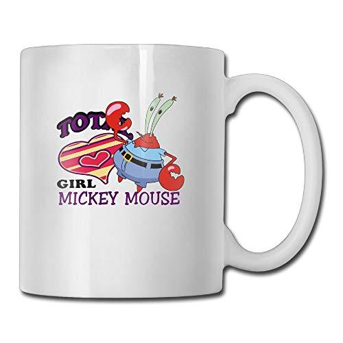 AiguanCartoon Crab 11oz Tea Cup Coffee Mug