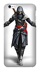 2014 New Style Popular Assassin's Creed fashionable pictures Print Design for iphone 6 Plus TPU Hard Plastic Case