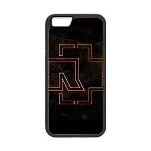 RAMMSTEIN FANS GRUPO funda iPhone 6 Plus 5.5 pufunda LGadas funda del teléfono celular de cubierta, funda iPhone 6 Plus casos negras 5,5 pufunda LGadas Funda negro