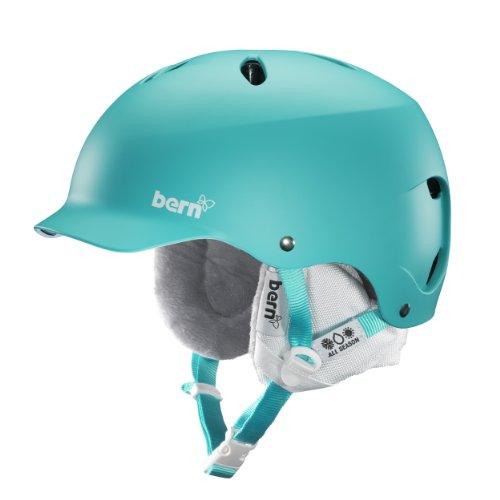 Bern Unlimited Women's Lenox EPS Matte Finish Snow Helmet with White Liner