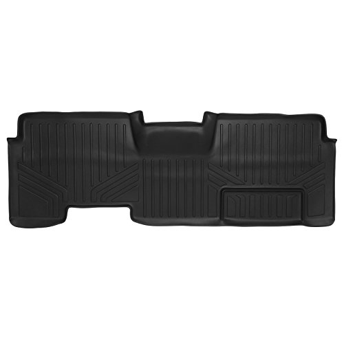 MAXLINER B0027 MAXFLOORMAT Floor Mats 2nd Row Black for 2009-2014 Ford F-150 SuperCab With Flow Center Console Only