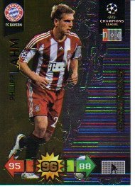 Adrenalyn XL Champions League 2010/11 - CHAMPIONS - Lahm [Toy]