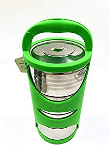 Stainless steel Insulated Lunch box- Green
