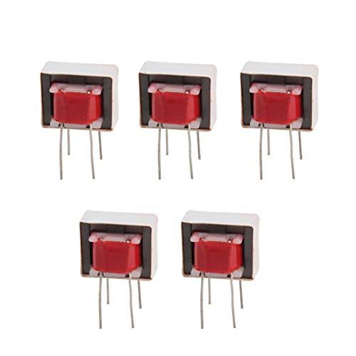 HiLetgo 5pcs EI14/EI-14 Audio Coupling Isolation Transformer Audio Transformer 600:600 1:1