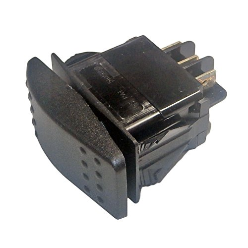 Generac Guardian Switch - Generac 0D4767 OEM RV Guardian Generator Main On-Off Rocker Switch DPDT Spade - Ultra-Source 004582 Compatible - Power System Replacement Part