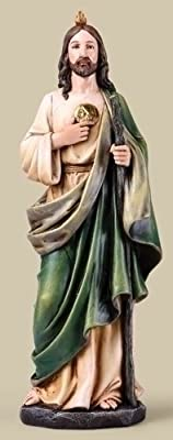 """14"""" St. Jude Statue by Roman"""