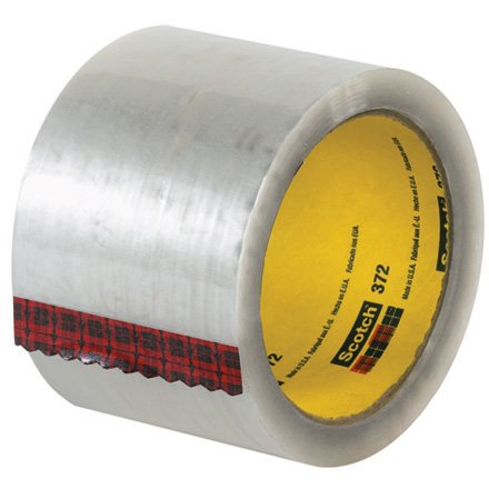 Box King T905372 3M 372 Carton Sealing Tape, 55 yd. Length, 3