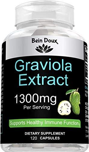 Graviola Capsules 1300 mg
