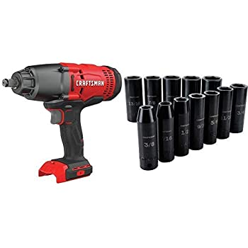 CRAFTSMAN V20 Cordless Impact Wrench, Tool Only with Deep