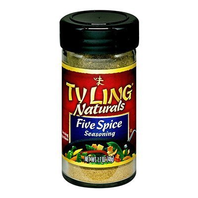 Ty Ling Five Spices Seasoning, 1.7 Ounce -- 6 per case. by Ty Ling by Ty Ling