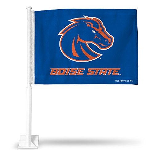 Rico Industries NCAA Boise State Broncos Car Flag
