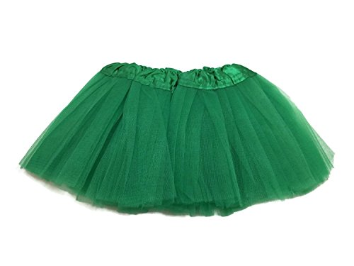 Costumes Kelly Company Dance (Rush Dance Ballerina Infant/ Little Girls Princess Fairy Costume Recital Tutu (Infant (Newborn - 3 Years), Kelly)