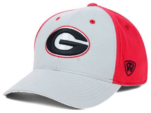 Top of the World Georgia Bulldogs NCAA Men's Fitted Cap Hat - Size: Medium/Large