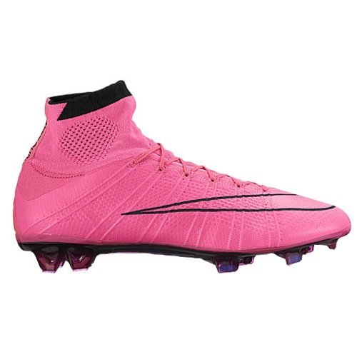 a83b060f3 Nike Mercurial Superfly Leather FG 747219-006 Black Pink Men Soccer ...