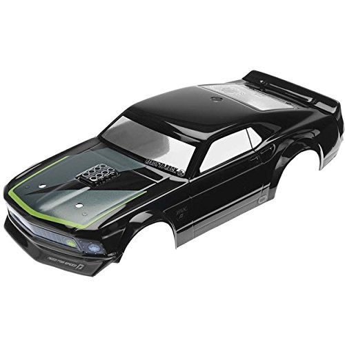 HPI Racing 1969 Ford Mustang RTR-X Painted Body (140mm) Micro RS4 - Hpi Racing Micro