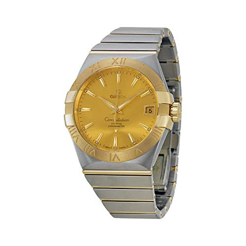 - Omega Constellation Chronometer Automatic Champagne Dial Mens Watch 12320382108001