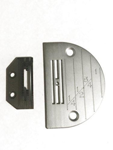 (Juki Original Needle Plate/Juki Original Feed Dog Ekono Pak - Juki Genuine Parts - Japan Import)